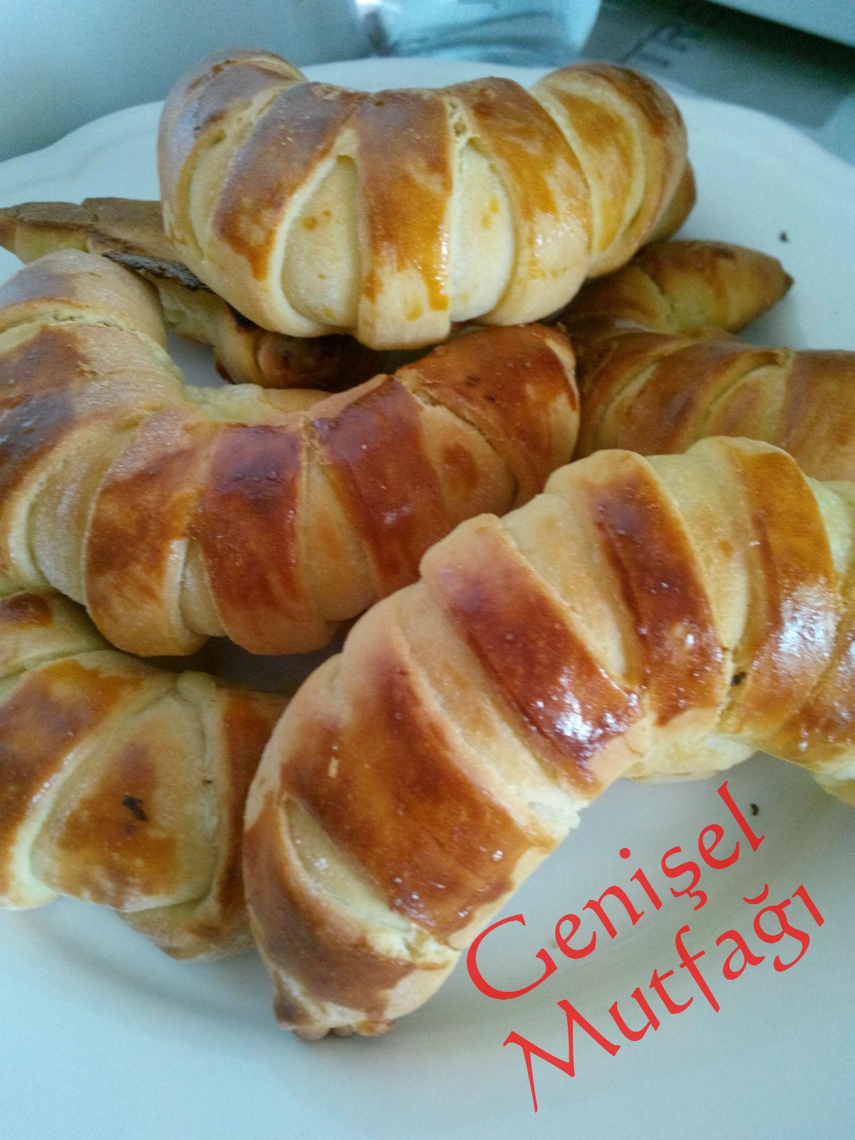 Peynirli Şerit Poğaça Tarifi